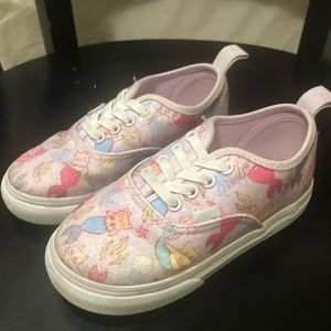 Vans Toddler Kitty Mermaid Shoes Size 8.5